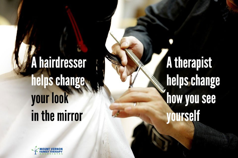The Difference Between Talking to Your Hairdresser and a Good Therapist
