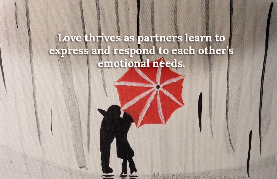 meeting emotional needs in relationship