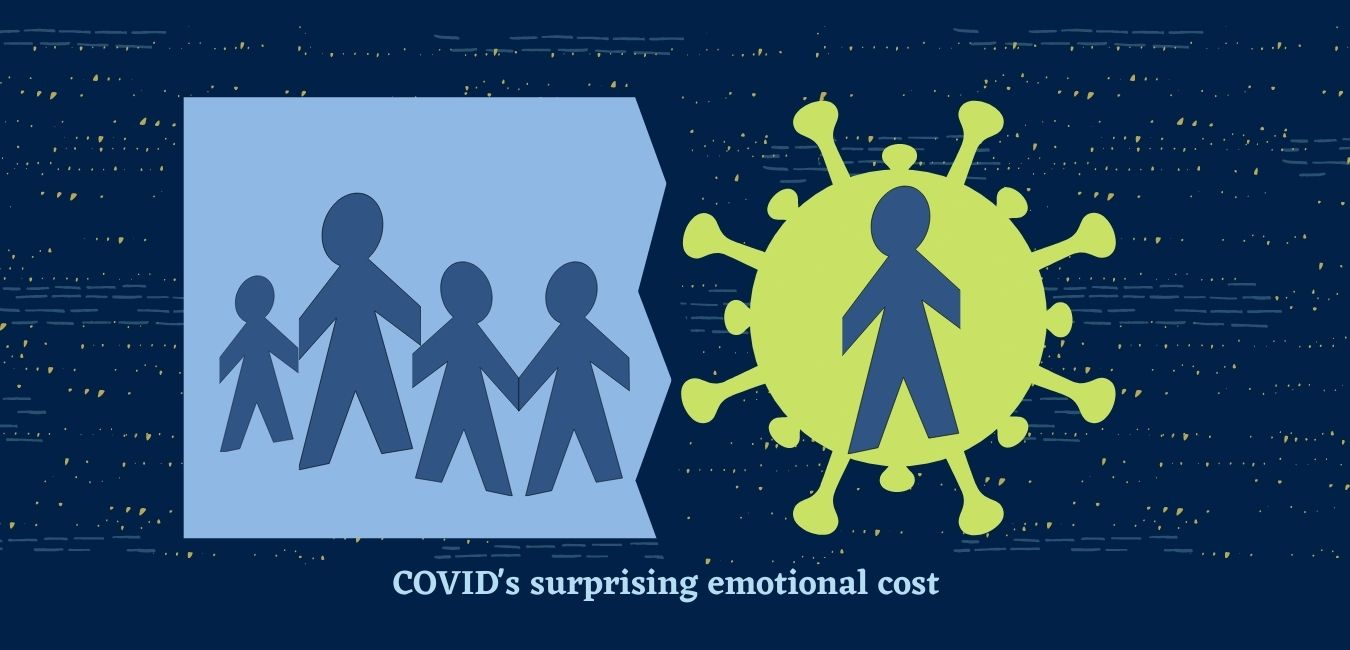 COVID's surprising emotional cost to our family when my husband got sick